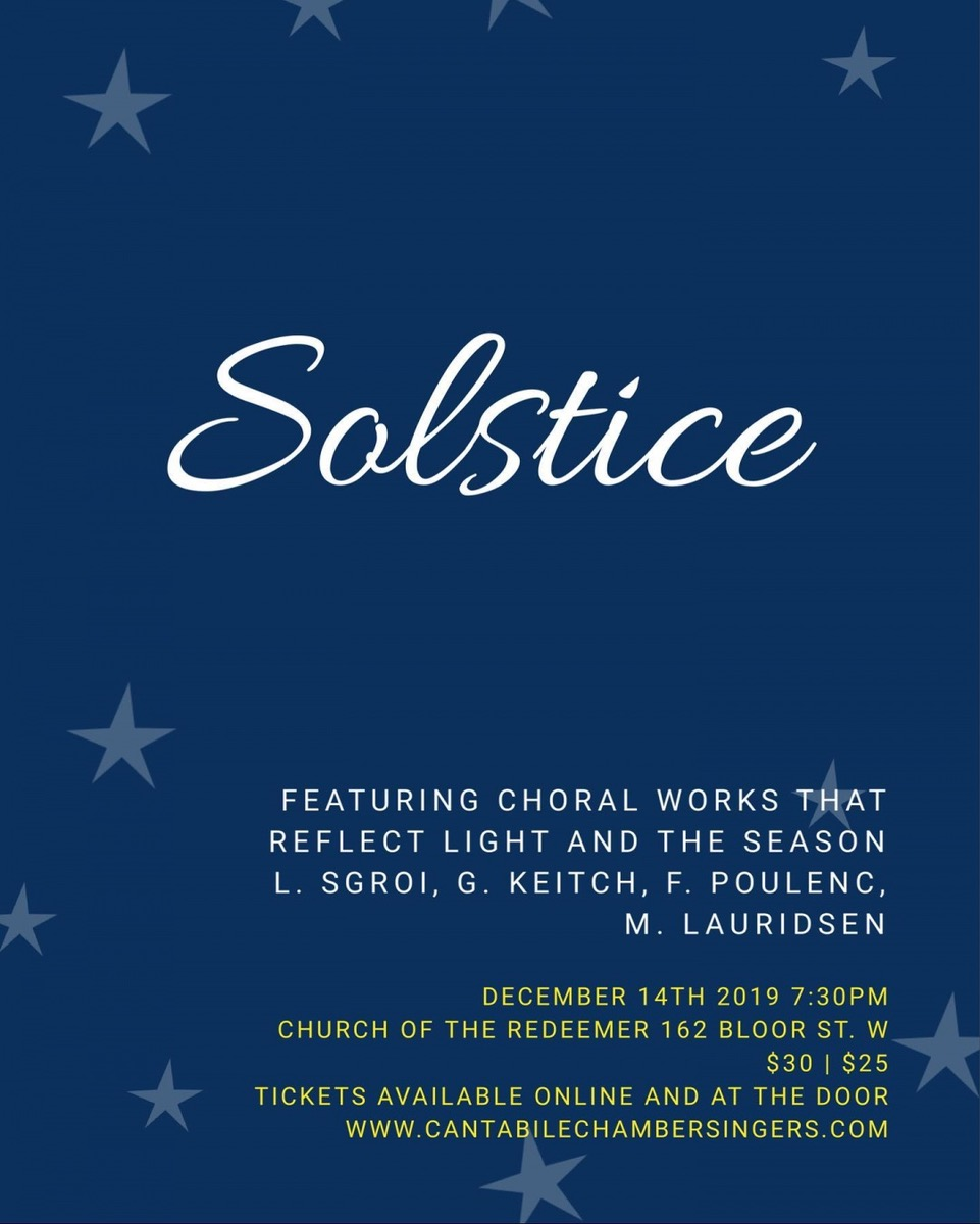Cantabile Solstice